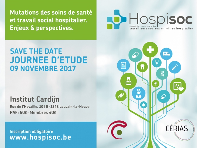 «Mutation des soins de santé et travail social hospitalier : enjeux et perspectives » : Bref compte rendu